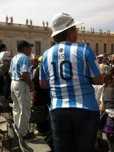 Lazio-Anhänger in Rom