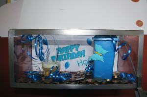 Geburtstagsspendenbox